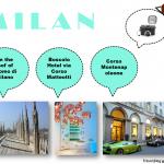Repérages pour shooting mode à Milan