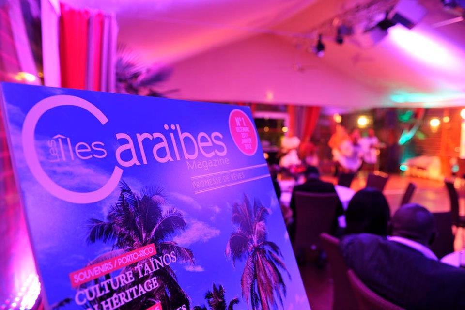 lancement iles caraibes magazine
