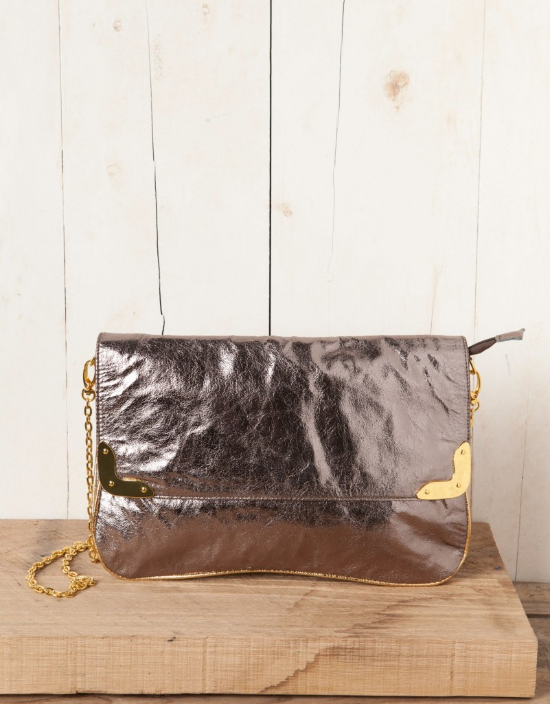 sac a main metalisee pull and bear