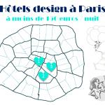 3 hôtels design à moins de 150 euros à Paris