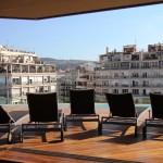 B Hotel – Piscine vue panoramique sur le toit de Barcelone