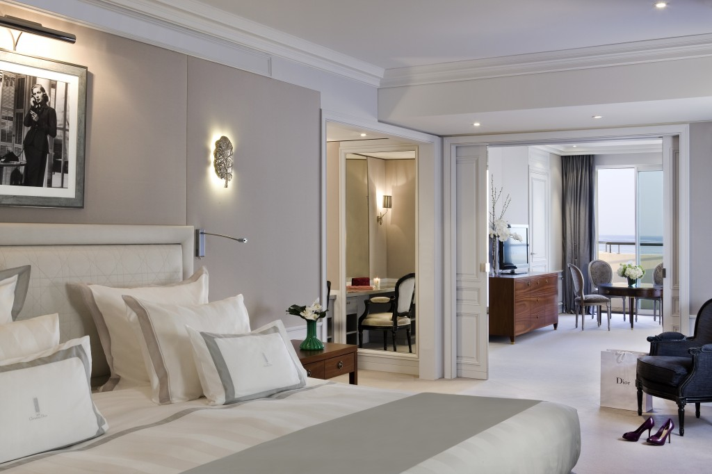 MAJESTIC BARRIERE CANNES SUITE DIOR
