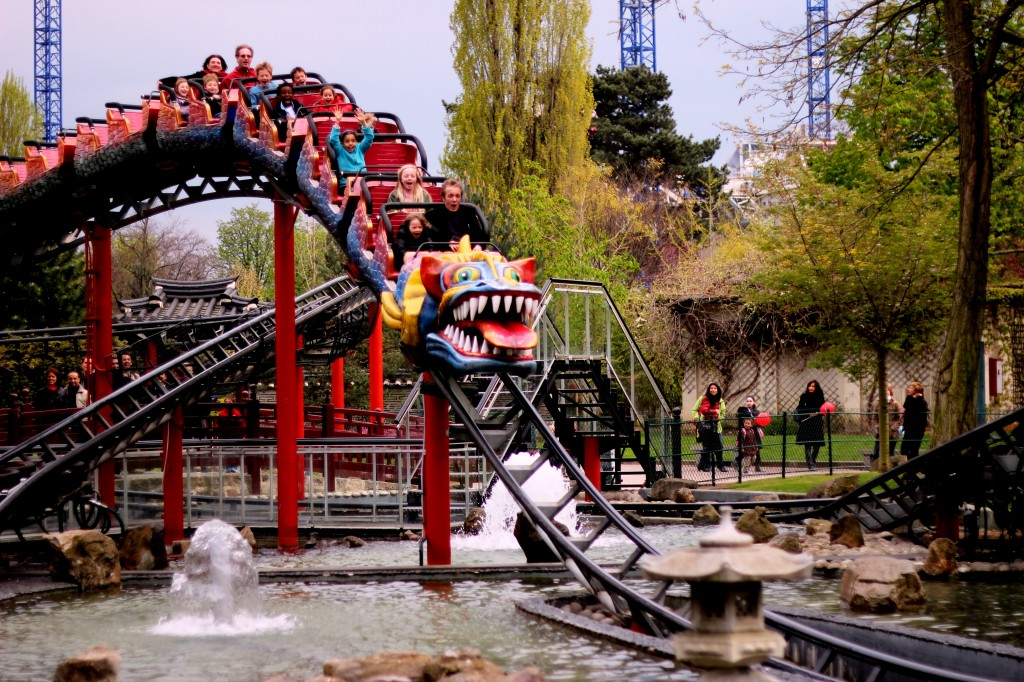 manege dragon jardin acclimatation