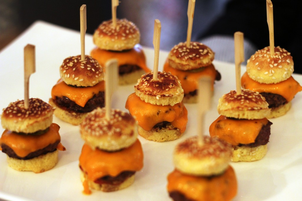 MINI BURGERS FOODING MADEMOISELLE M