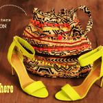 Somewhere over the rainbow (sac urban safari & stiletto fluo)