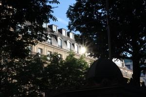 blog paris tour Eiffel vue sur paris