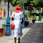 Dans les rues de Bridgetown (Barbade)
