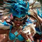 Toutes les couleurs des caraïbes dans un festival (Barbade)