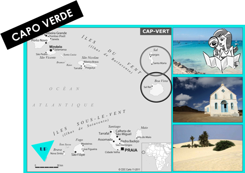 MAP CAPO VERDE