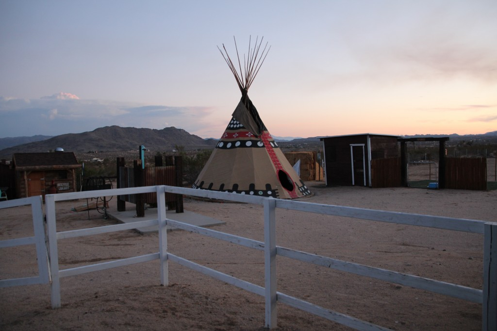 sunset road trip california dream desert yucca valley