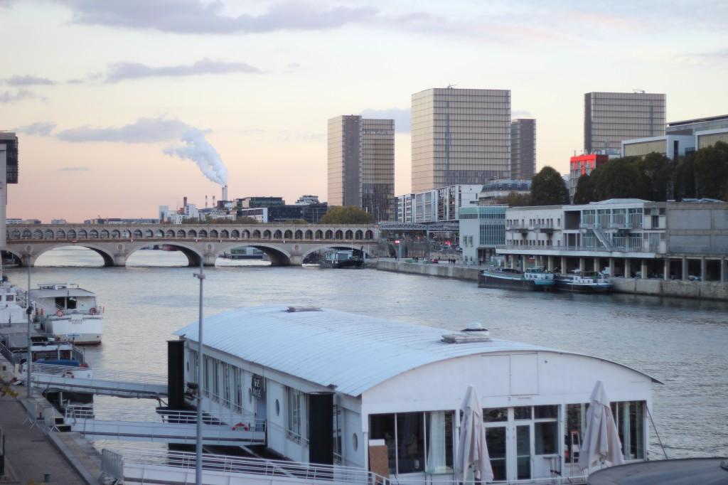 Pastel d'hiver Paris Insolite Quais de Seine Bastille