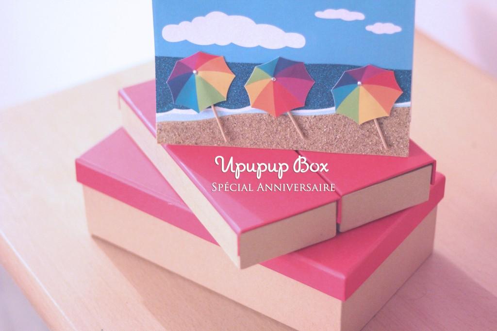 Upupup box spécial anniversaire blog