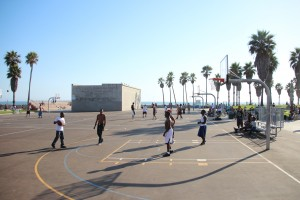1 Venice Beach Basket Ball Match