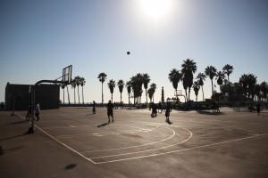 10 Venice Beach Basket Ball Match