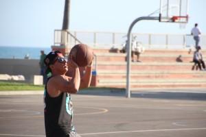 2 Venice Beach Basket Ball Match