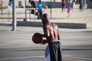 3 Venice Beach Basket Ball Match