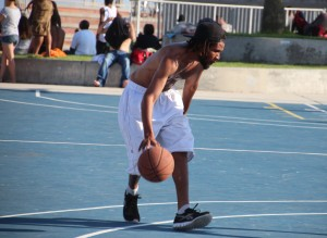 4 Venice Beach Basket Ball Match