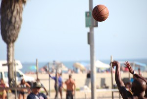 6 Venice Beach Basket Ball Match