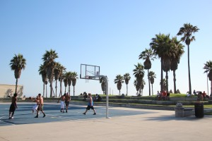 7 Venice Beach Basket Ball Match