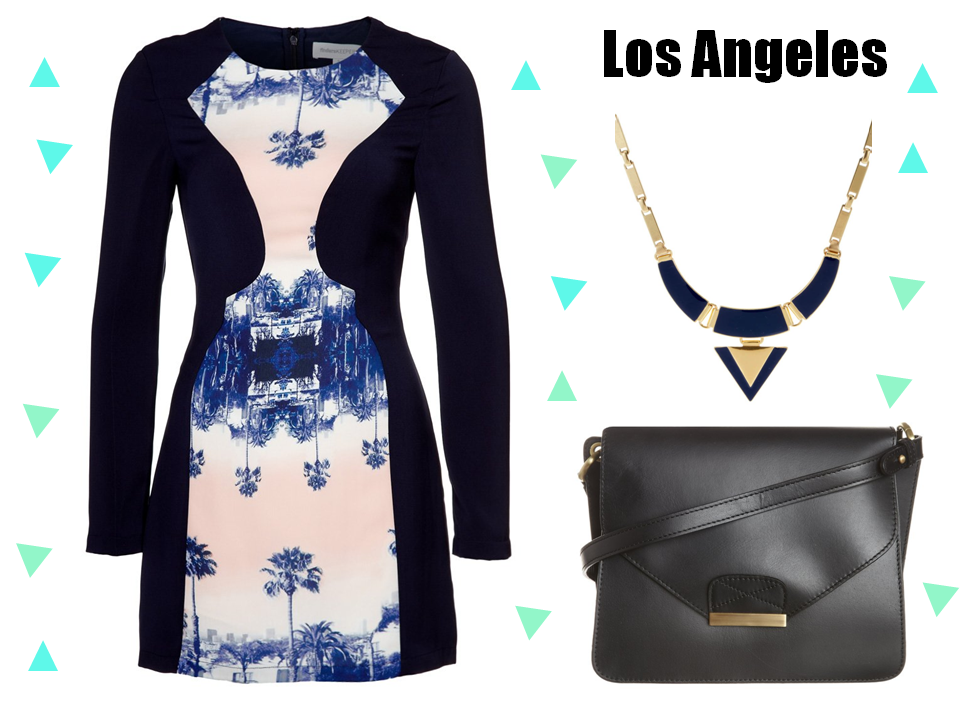 Fashion selection dress bag jewerly look los angeles style los angeles dressing 