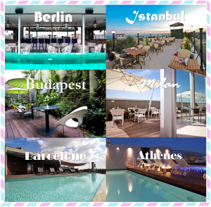 Bon plan voyages les plus belles terrasses hôtels a moins de 100 euros la nuit europe