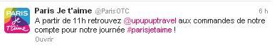 Paris OTC Blogueuse parisienne