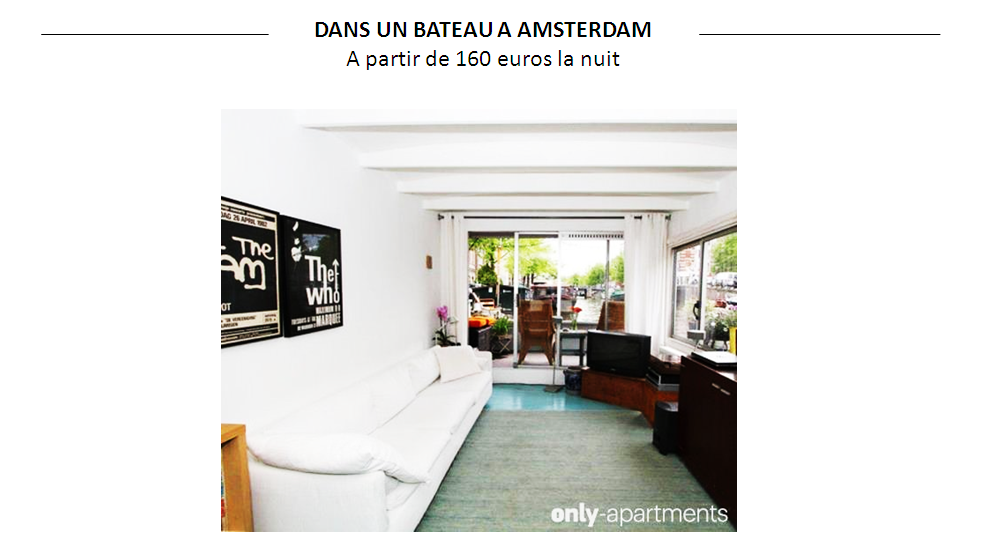 LOUER APPARTEMENT AMSTERDAM