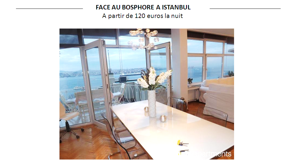 LOUER APPARTEMENT ISTANBUL