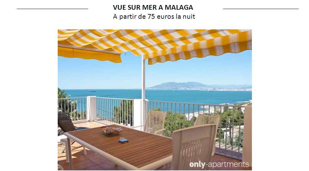 LOUER APPARTEMENT MALAGA