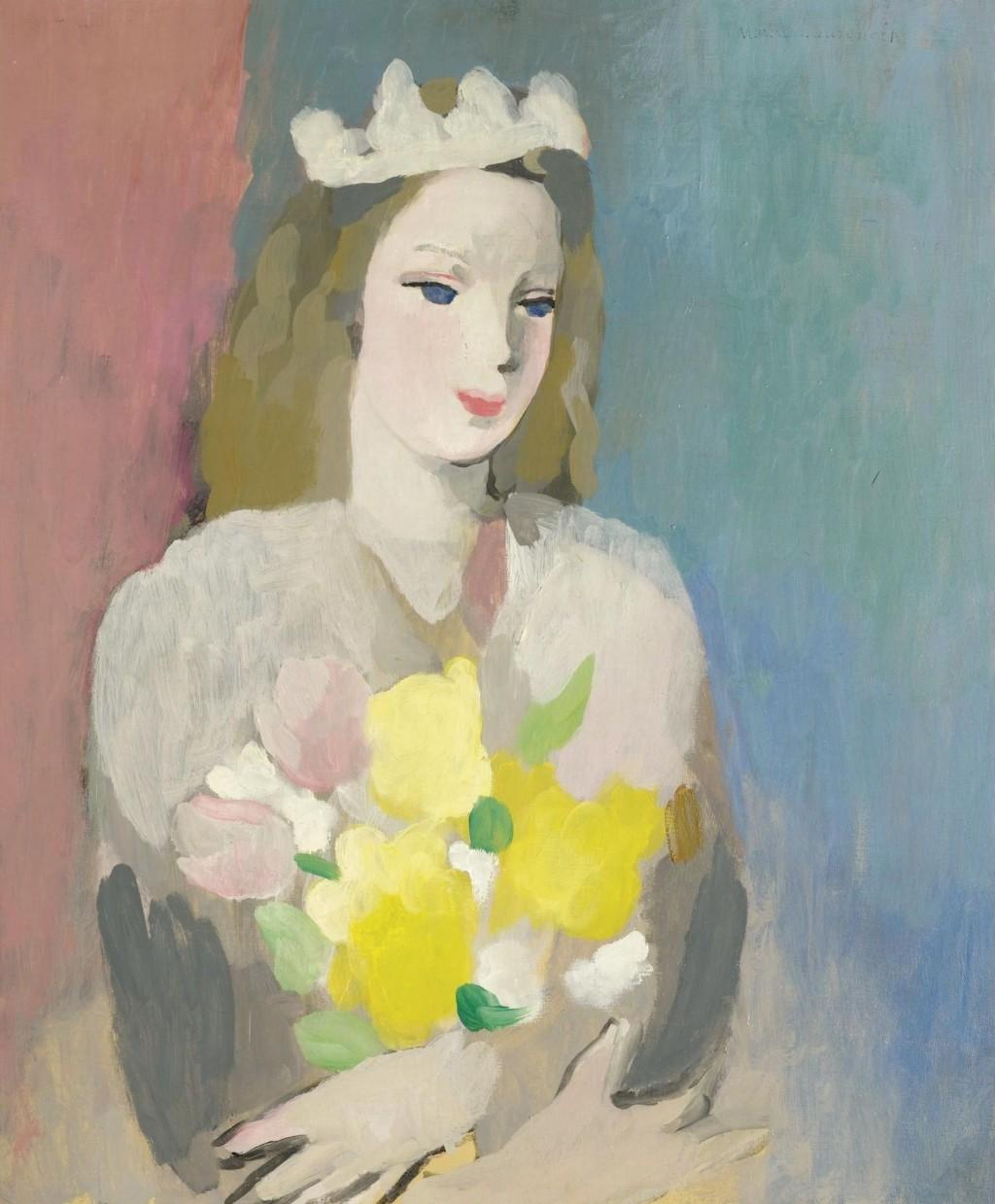 marie-laurencin-jeune-fille-au-bouquet