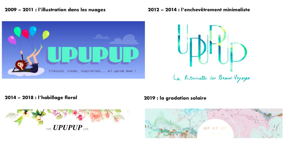UP UP UP Blog upupup.fr Historique