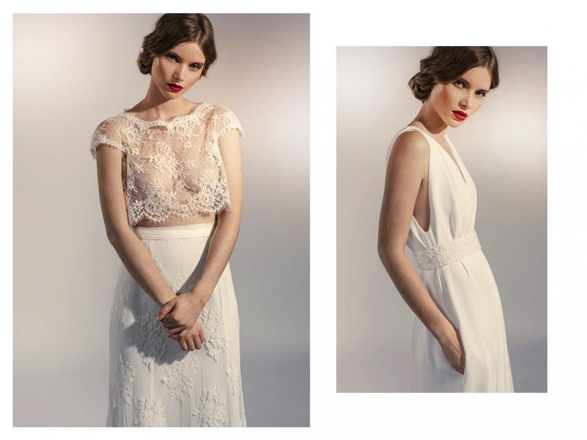 robe mariage créateur Nicolas Fafiotte