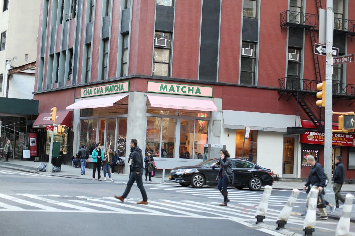 cha cha matcha new york blog upupup.fr 1