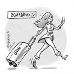 Accessoires mode d'une voyageuse estivale