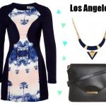 La robe carte postale de Los Angeles